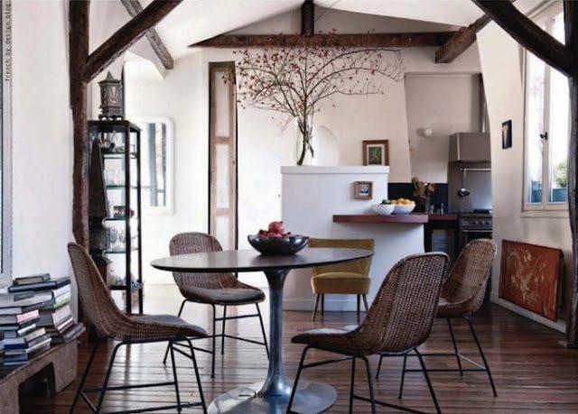 Espacios comedor en la cocina - Cocinas con encanto ...