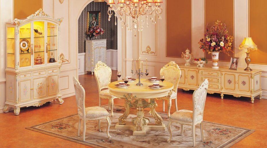 Comedor de estilo barroco - Estilo barroco decoracion ...