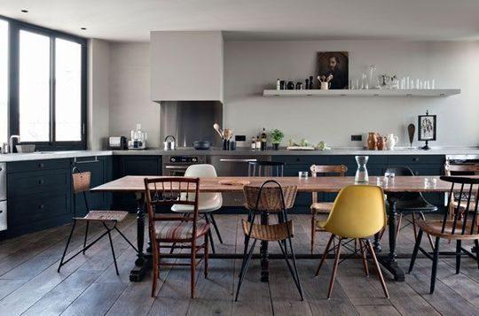 Espacios comedor en la cocina