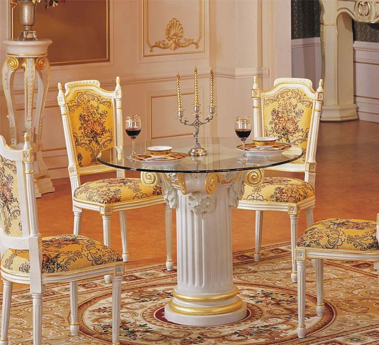 Mesa de comedor y sillas barrocas im genes y fotos - Muebles estilo barroco moderno ...